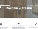 Maurizio Giordano, Architetto a Milano